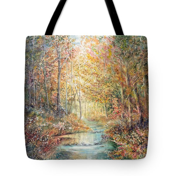 Swallows Creek Tote Bag