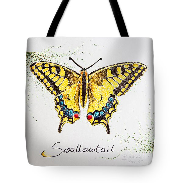 Swallowtail - Butterfly Tote Bag by Katharina Filus