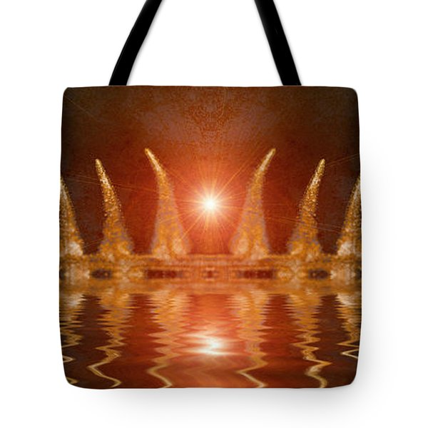 Swamp King Tote Bag by WB Johnston