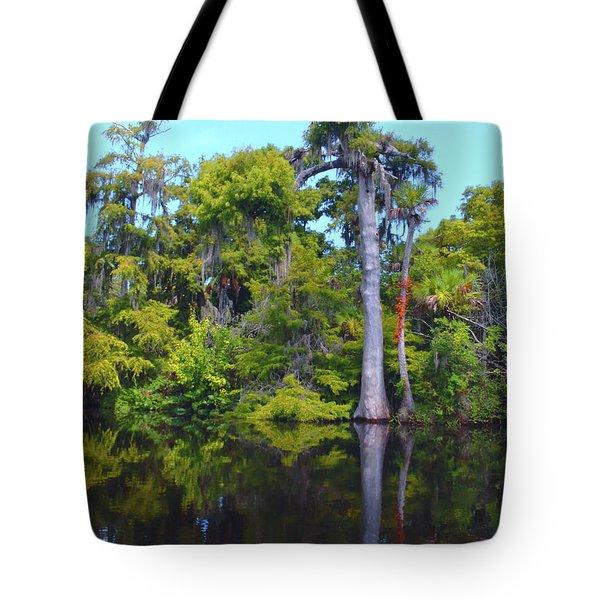 Swamp Land Tote Bag