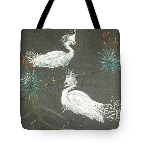 Swampbirds Tote Bag