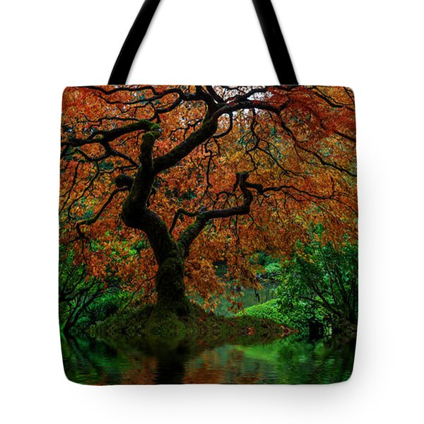 Swamped Japanese Tote Bag