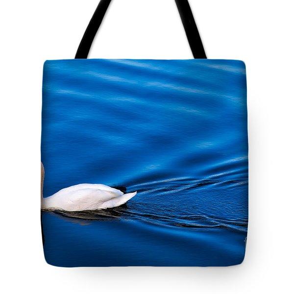 Swan Lake Tote Bag by Adrian Evans