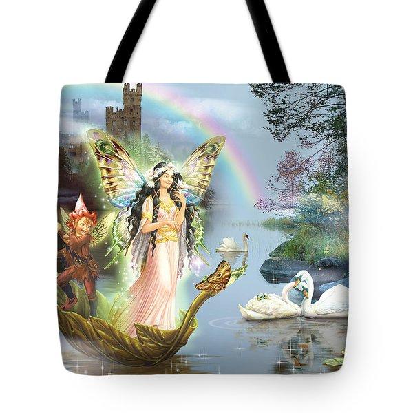 Swan Lake Fairy Tote Bag