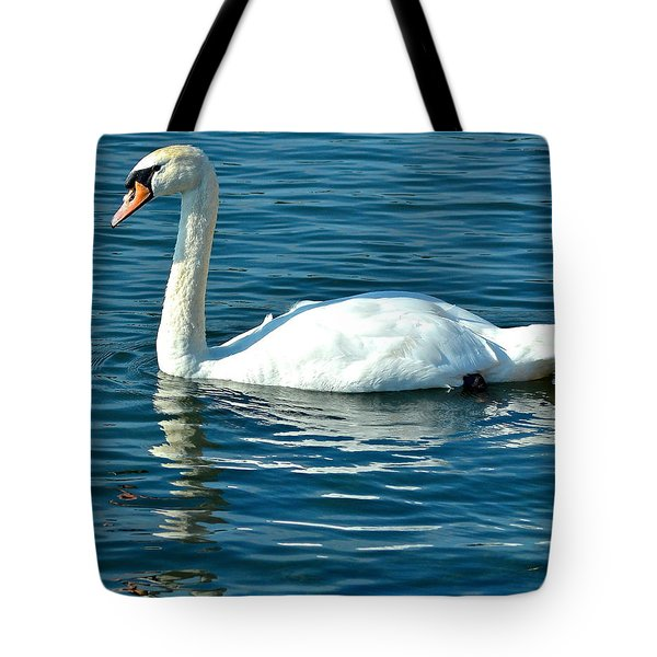 Swan Song Tote Bag