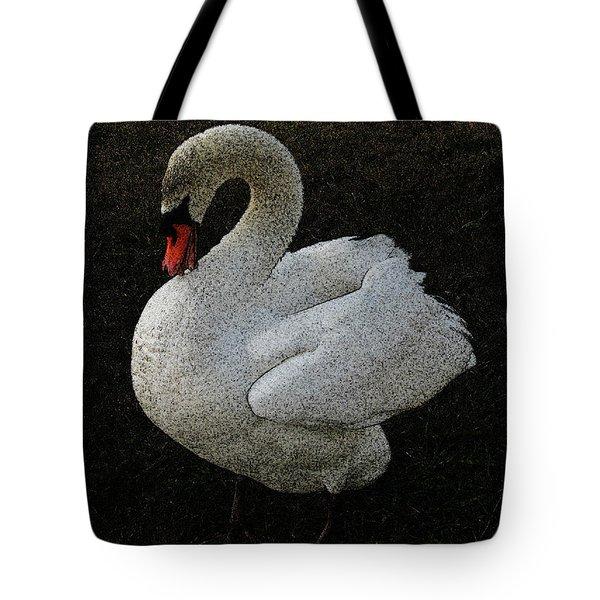 Swan Song Tote Bag by Lenore Senior and Sharon Burger