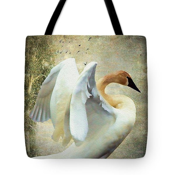 Swan - Summer Home Tote Bag
