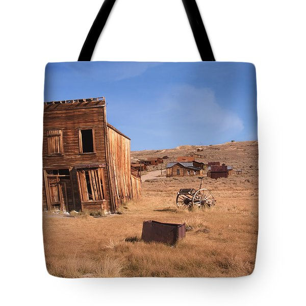 Swazey Hotel Bodie Ghost Town Tote Bag