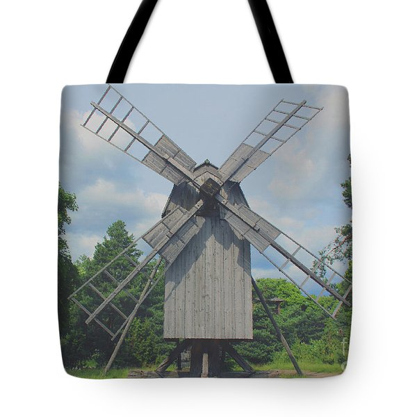 Tote Bag featuring the photograph Swedish Old Mill by Sergey Lukashin
