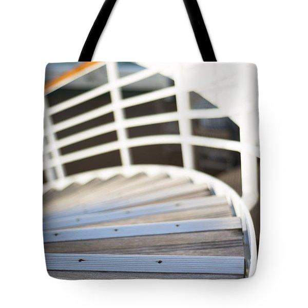 Sweeping Down Tote Bag