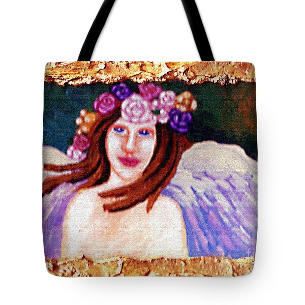 Sweet Angel Tote Bag by Genevieve Esson