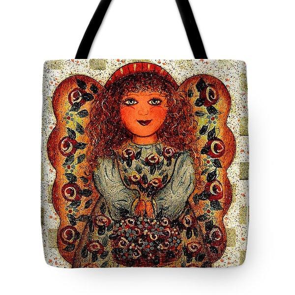 Sweet Angel Tote Bag by Natalie Holland