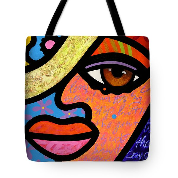 Sweet City Woman Tote Bag
