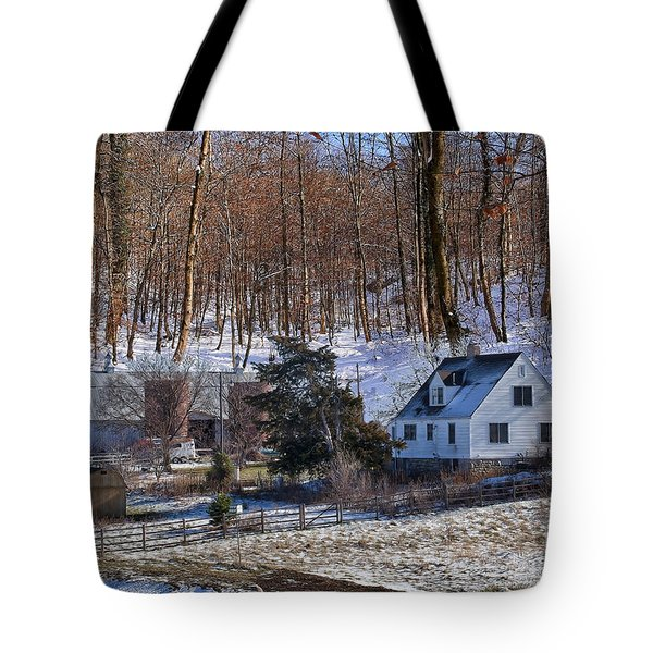 Tote Bag featuring the photograph Sweet Country Charm by Liane Wright