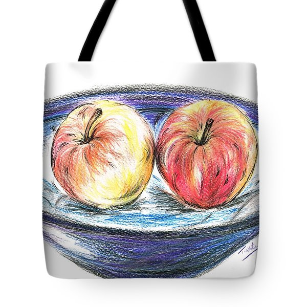 Sweet Crunchy Apples Tote Bag