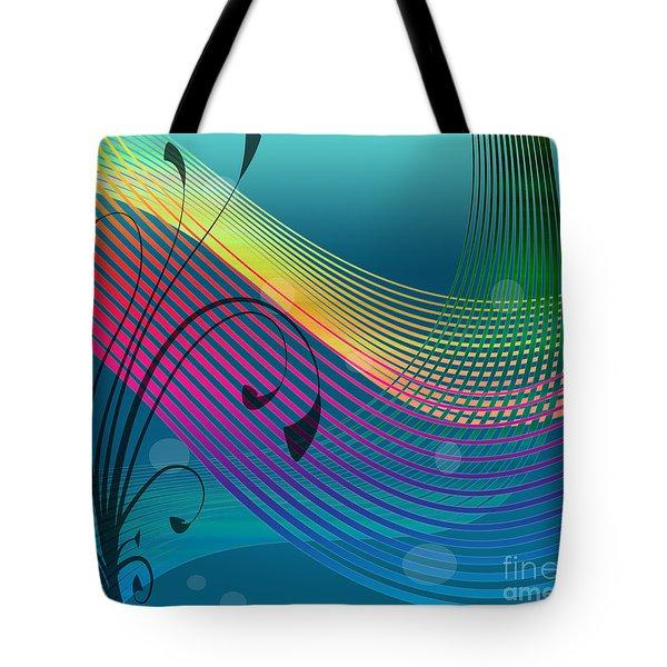 Sweet Dreams Abstract Tote Bag