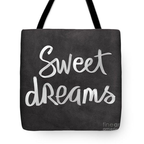 Sweet Dreams Tote Bag by Linda Woods