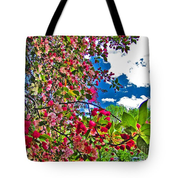 Sweet Escape Tote Bag by Minding My  Visions by Adri and Ray