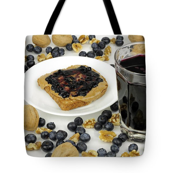 Sweet Fruit Nut Treats Tote Bag