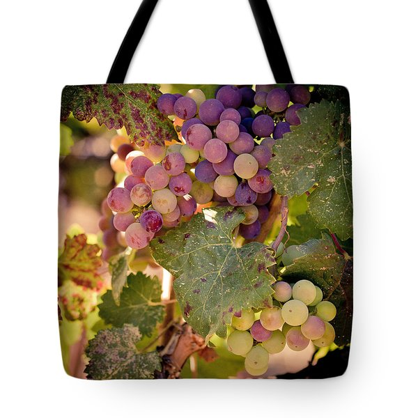 Sweet Grapes Tote Bag