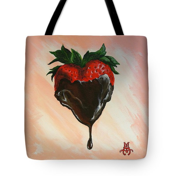 Sweet Heart Tote Bag by Marco Antonio Aguilar