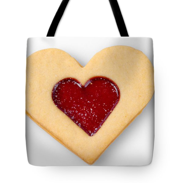 Sweet Heart - Symbol For Love Valentine Relationship Tote Bag by Matthias Hauser