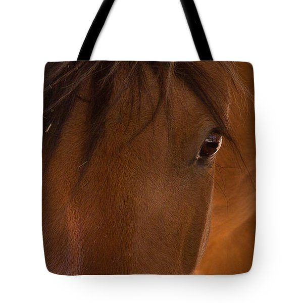 Sweet Horse Face Tote Bag