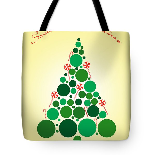 Sweet Merry Christmas Tote Bag by Mark Ashkenazi