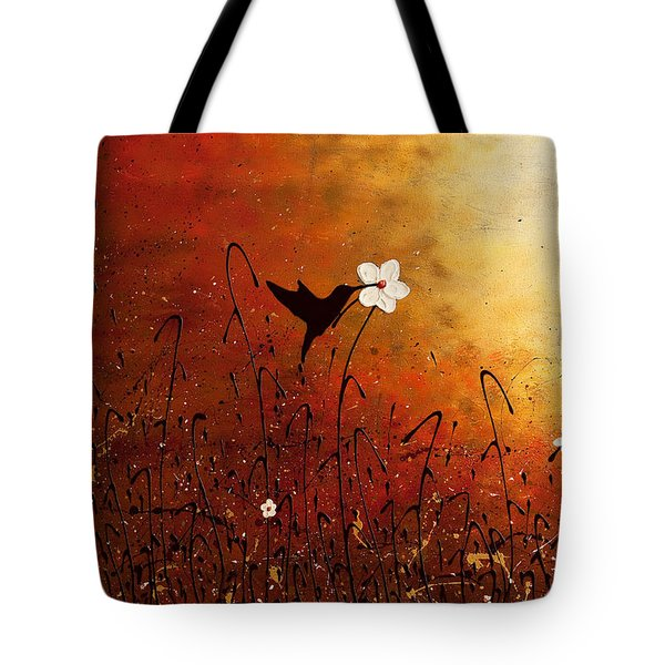 Sweet Nectar Tote Bag by Carmen Guedez