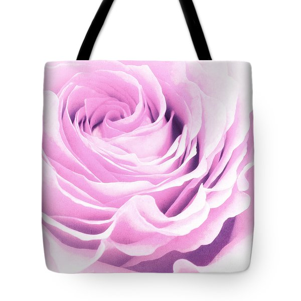 Sweet Pastel Rose Tote Bag