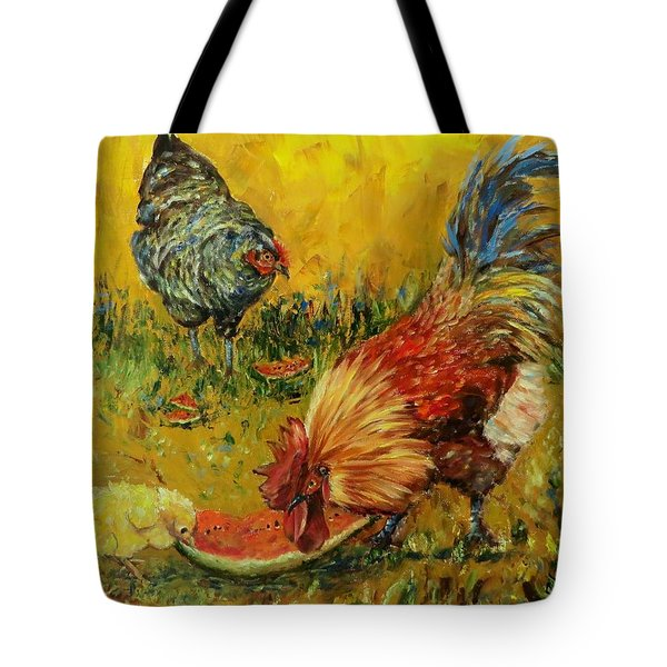 Sweet Pickins, Chickens Tote Bag