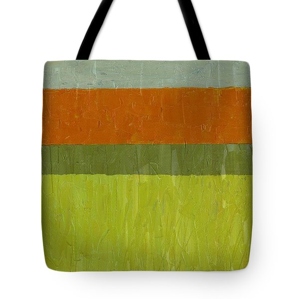 Sweet Potato And Pea Green Tote Bag