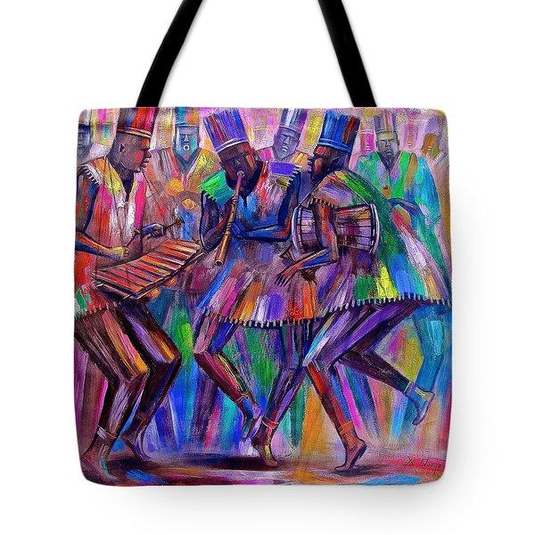 Sweet Rhythms Tote Bag