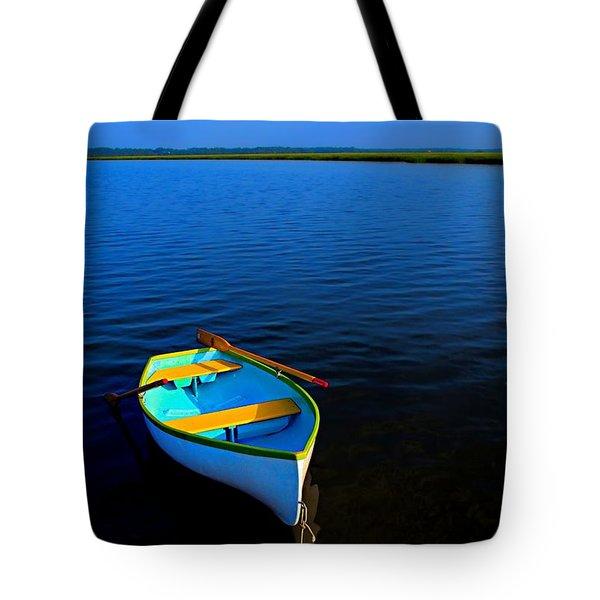 My Sweet Row Boat Tote Bag