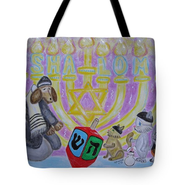 Sweet Shalom Tote Bag