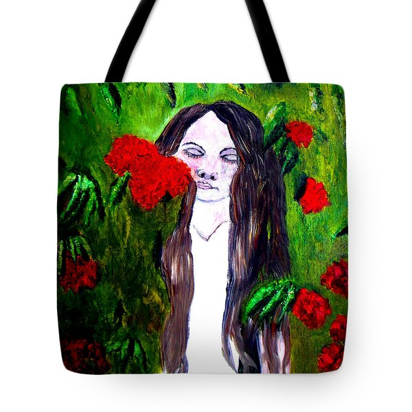 Sweet Smell Of  Flowers Tote Bag