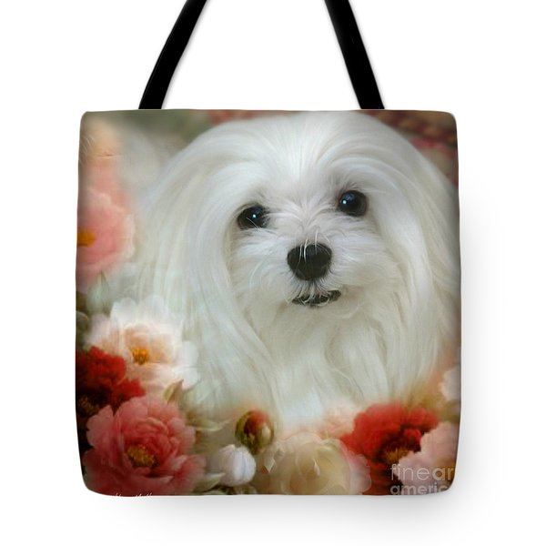 Sweet Snowdrop Tote Bag