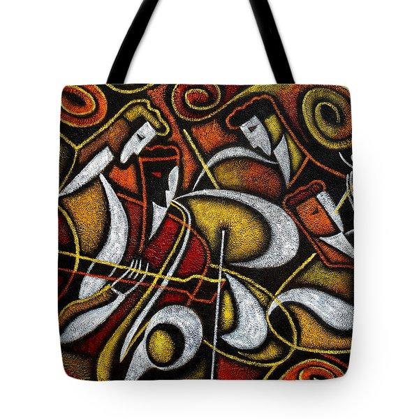 Sweet Sounds Of Jazz Tote Bag