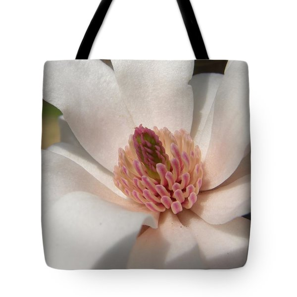 Tote Bag featuring the photograph Sweet Star Magnolia by Caryl J Bohn