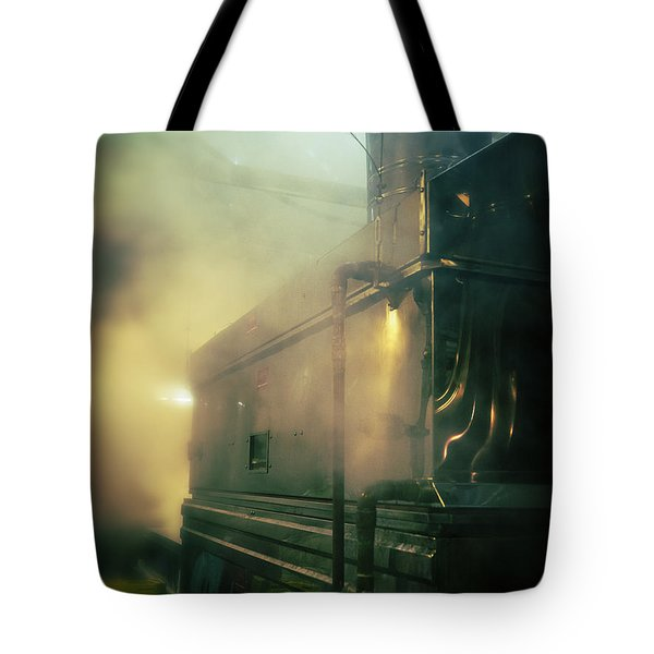 Sweet Steam Tote Bag by Edward Fielding