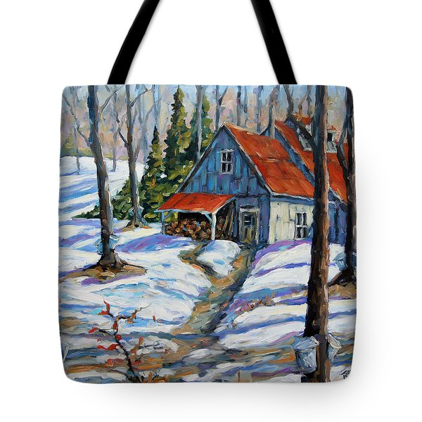 Sweet Sugar Shack By Prankearts Tote Bag