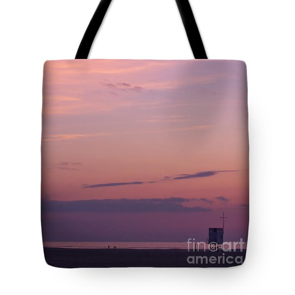 Sweet Sunset Tote Bag by Angela Doelling AD DESIGN Photo and PhotoArt
