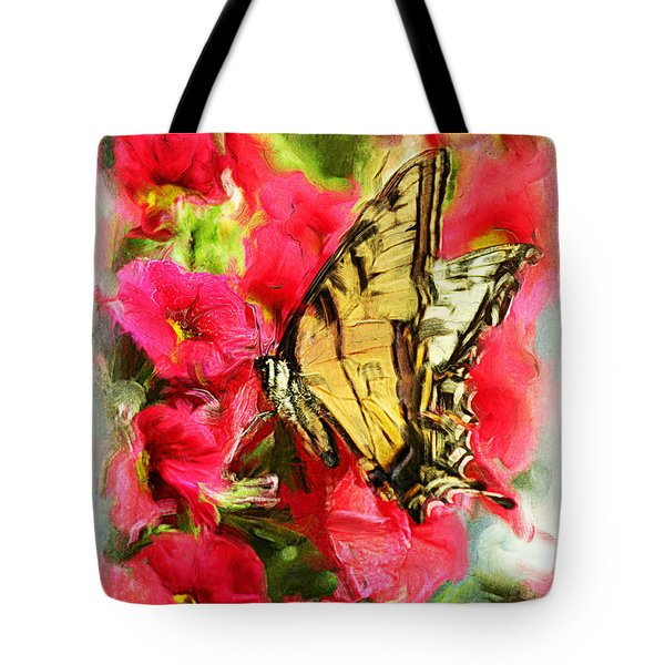 Sweet Swallowtail Tote Bag