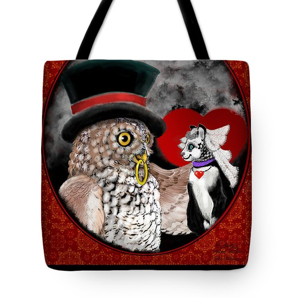 Sweet Sweethearts Tote Bag by Carol Jacobs