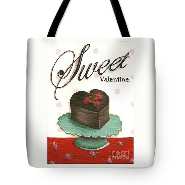 Sweet Valentine  Tote Bag by Catherine Holman