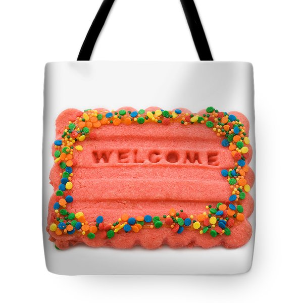 Sweet Welcome Mat Tote Bag