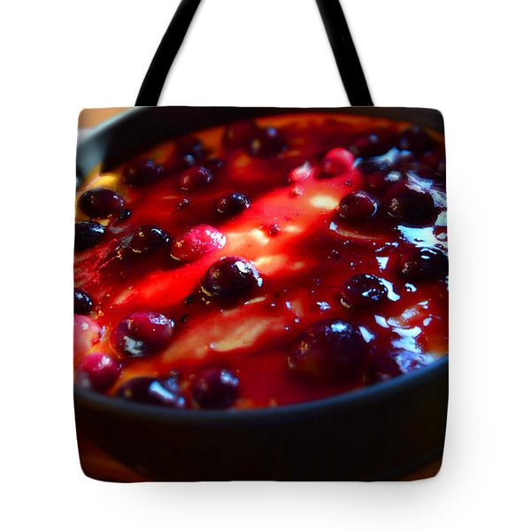 Tote Bag featuring the photograph Sweetest Cheese Pie by Ramona Matei