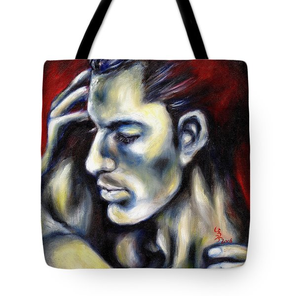 Tote Bag featuring the painting Sweetest Taboo by Hiroko Sakai