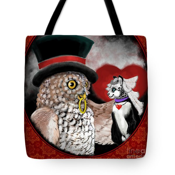 Sweethearts Tote Bag by Carol Jacobs