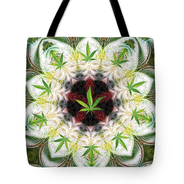 Sweetleaf Mandala Tote Bag